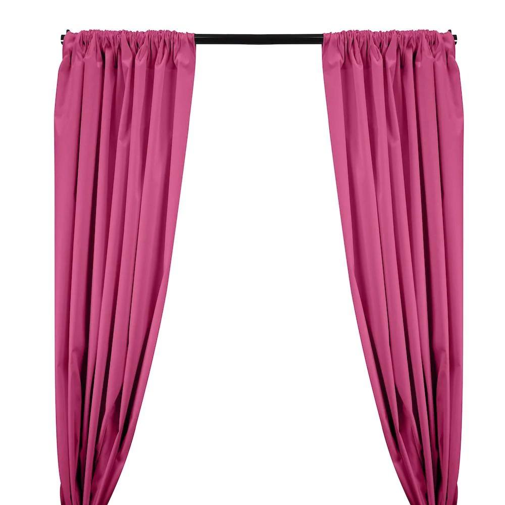 ottertex canvas waterproof rod pocket curtains hot pink
