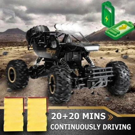 4WD RC Monster Truck Car 1:12 High-Speed Off-Road Remote Control Monster Truck