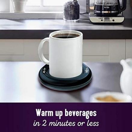 Mr. Coffee Mug Warmer Electric Smart Tea Coffee Cup Warmer