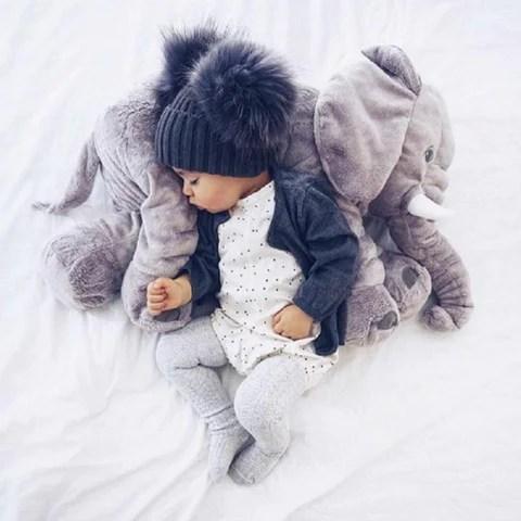 comfy elephant pillow baeby uk