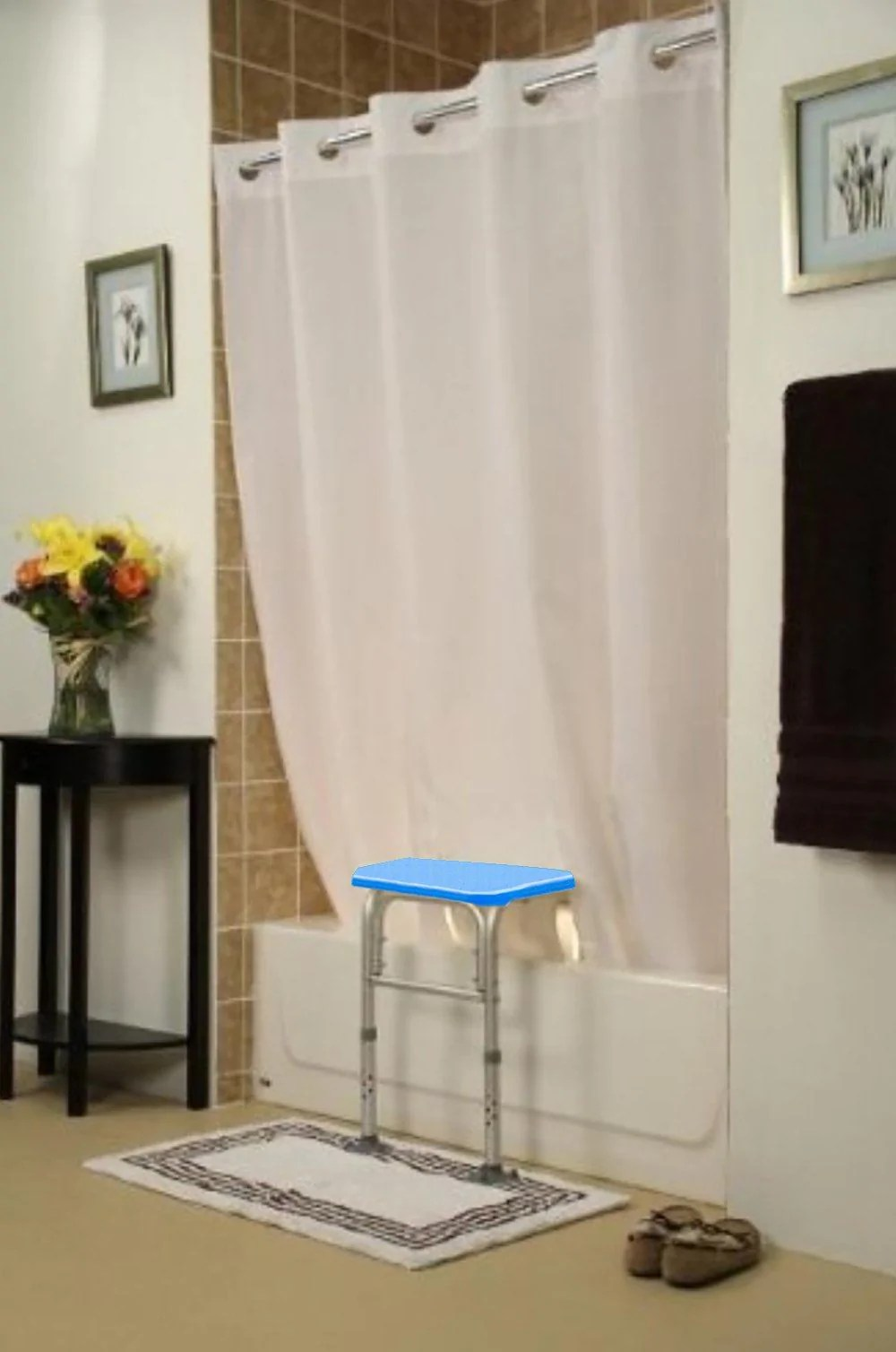 huis magnetic shower curtain weights