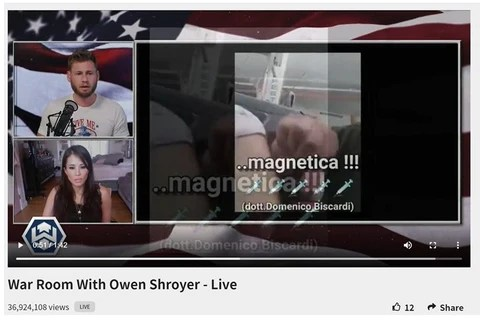 Cara on INFOWARS with Owen Shroyer of The War Room