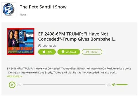 The Pete Santilli Show w/Cara Castronuova