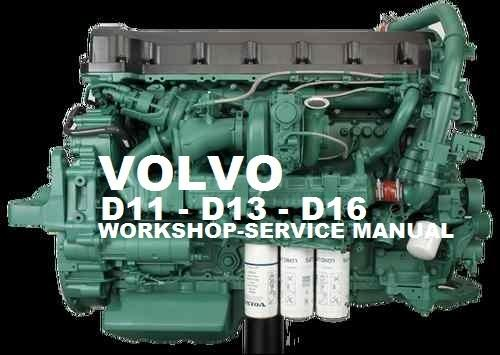 Volvo Marine  Truck Engine D11 Service Repair Manual