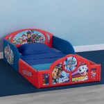 Paw Patrol Plastic Sleep And Play Toddler Bed Delta Children