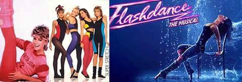 Flash dance 80ti 70ti