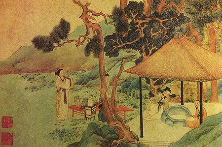 Ilustrasi Sejarah Teh