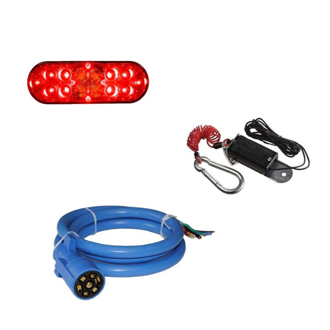 trailer lights  electrical  pj trailer parts  www