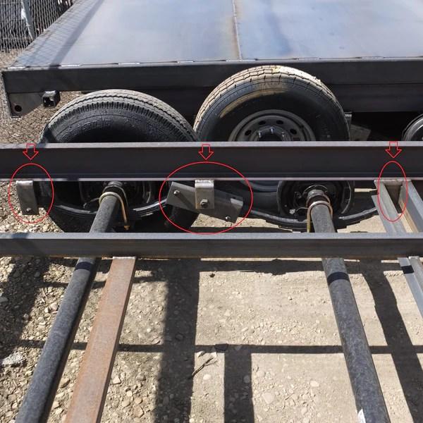 35K7K Tandem Axle Hanger Kit  Slipper Springs – wwwOrderTrailerParts