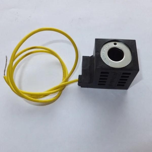 Valve Coil, 12V, 1 Wire for Bucher Pump M3319 (OLD STYLE) – wwwOrderTrailerParts