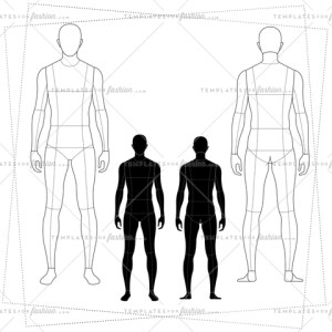 Male Fashion Croquis Templates     Templates for Fashion Drawing templates male