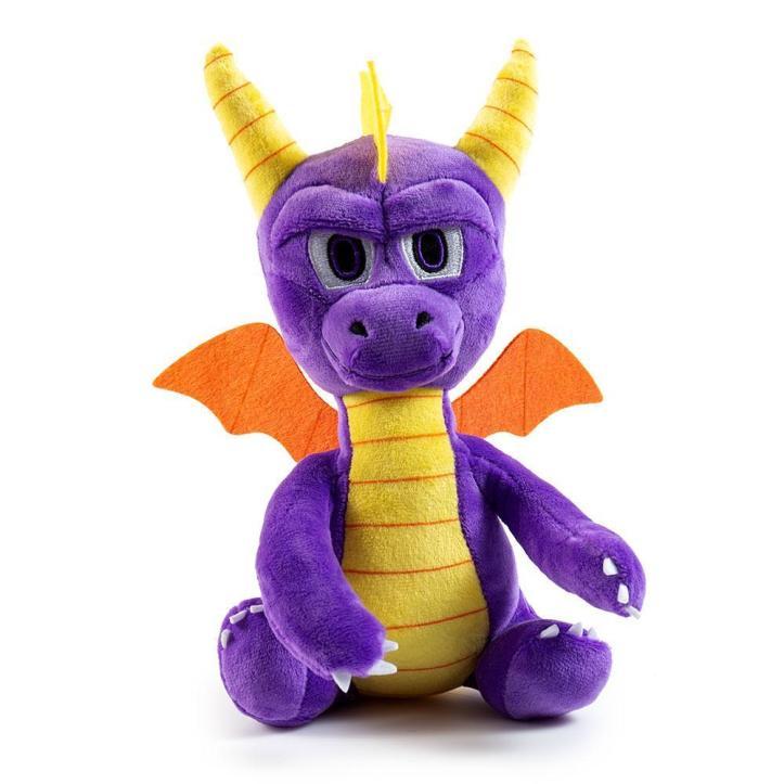 100% Polyester - Spyro The Dragon Phunny Plush By Kidrobot