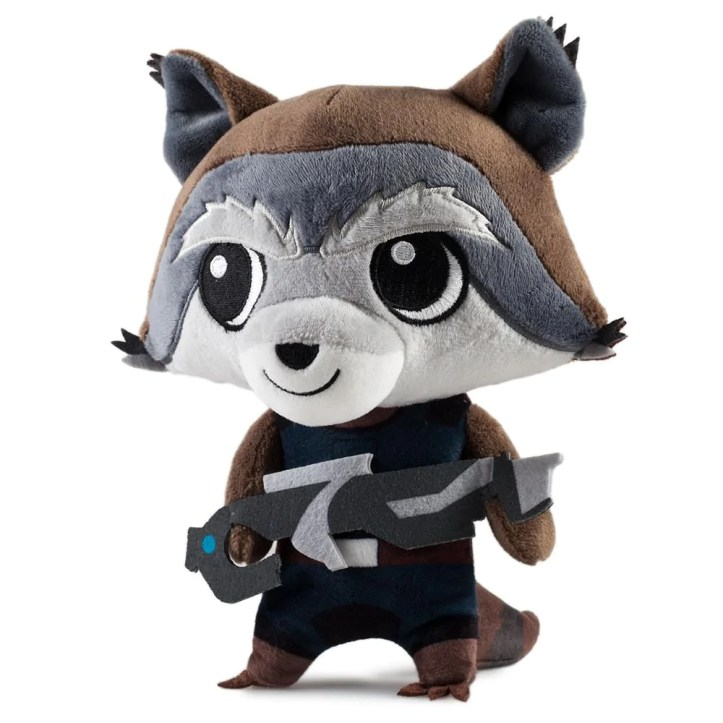 Rocket Raccoon Guardians of the Galaxy Phunny Plush - Kidrobot