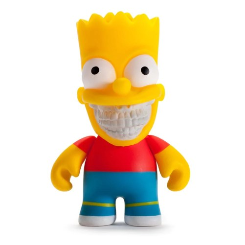 "The Simpsons Bart Grin 3"" Figure by Ron English"