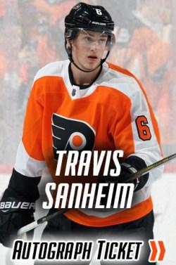 Travis Sanheim Philadelphia Flyers Experience Tickets