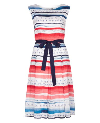 Seagull stripe dress £85 from Laura Ashley