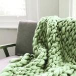 Beginners Giant Arm Knit Blanket London Craft Club