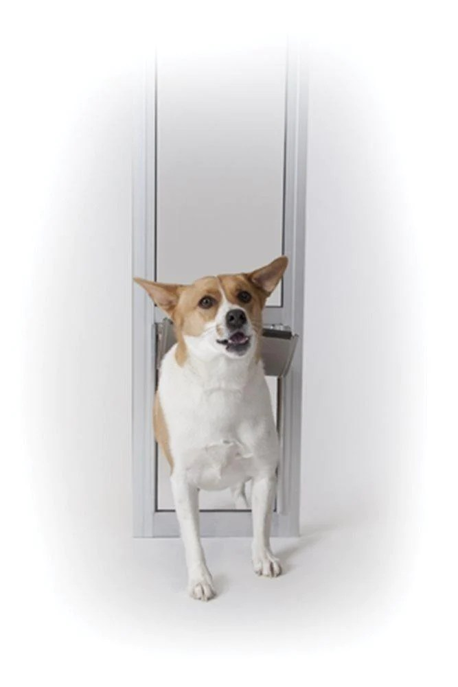 petsafe freedom patio pet door for sliding glass door panels