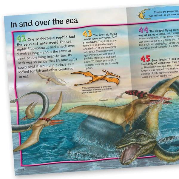 100 Facts Prehistoric Life – dinosaur books for children ...