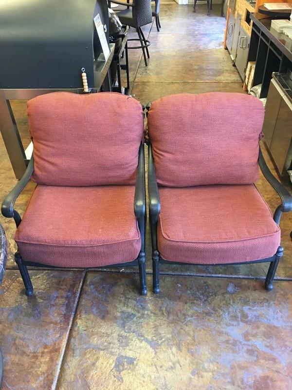 hanamint club chair set 056310 694107