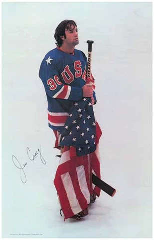Jim Craig US Olympic Hockey Poster 11x17 BananaRoad