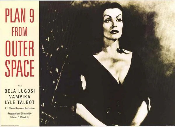 Plan 9 from Outer Space Vampira Poster 24x34 – BananaRoad
