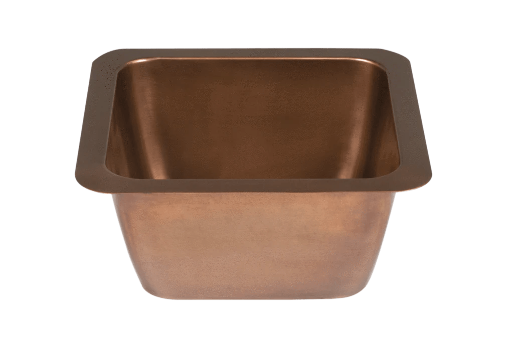 copper undermount sink small