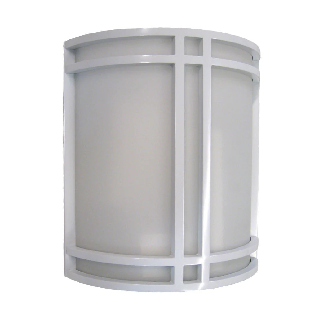 Epiphany Lighting 103188 WH One Light Contemporary Wall ... on Discount Wall Sconces id=43386