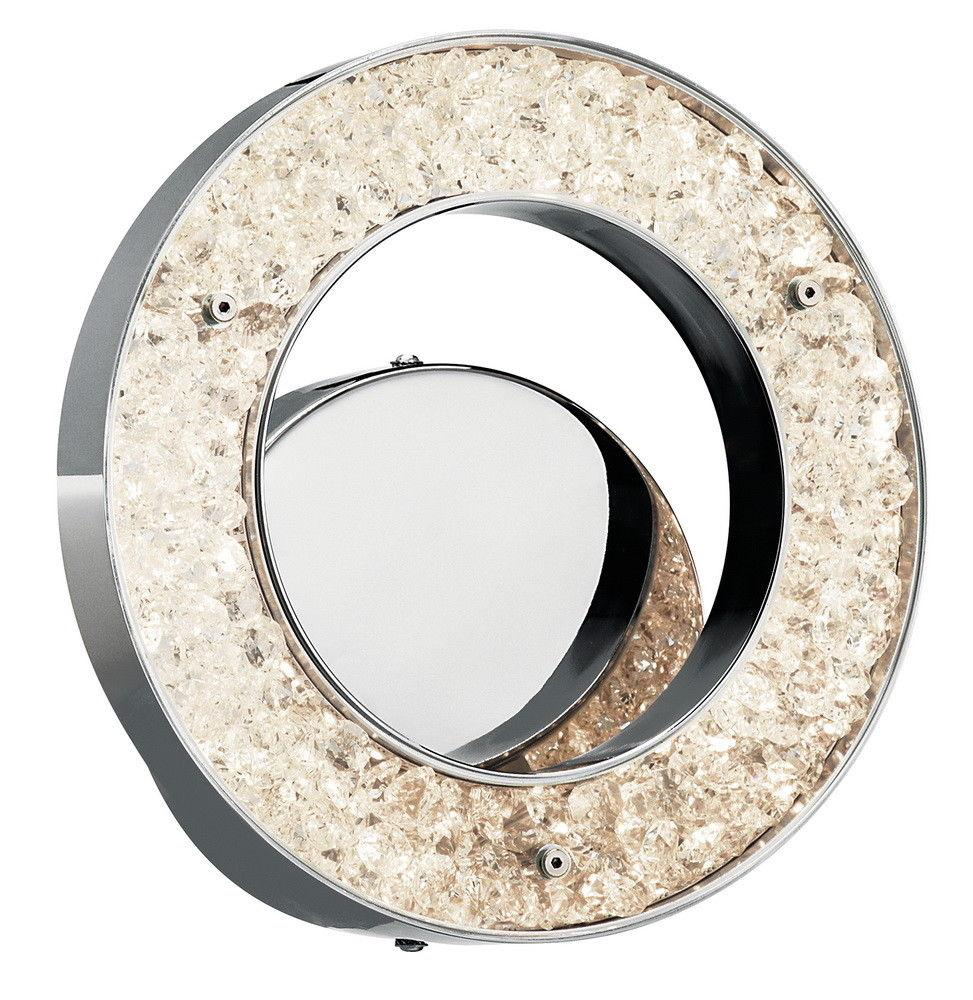 Elan by Kichler Lighting 83056 Crushed Ice Collection LED ... on Discount Wall Sconces id=55110