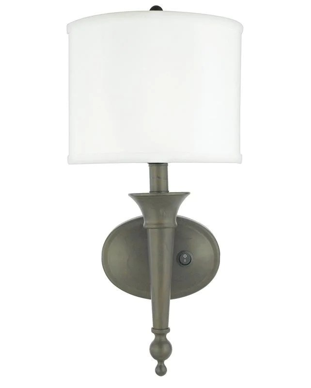 Quoizel Lighting HDS1080 SC Plug In Wall Sconce in ... on Discount Wall Sconces id=28129