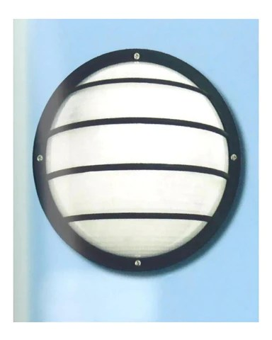 Epiphany Lighting 104852 BK One Light Polycarbonate ... on Discount Wall Sconces id=90209