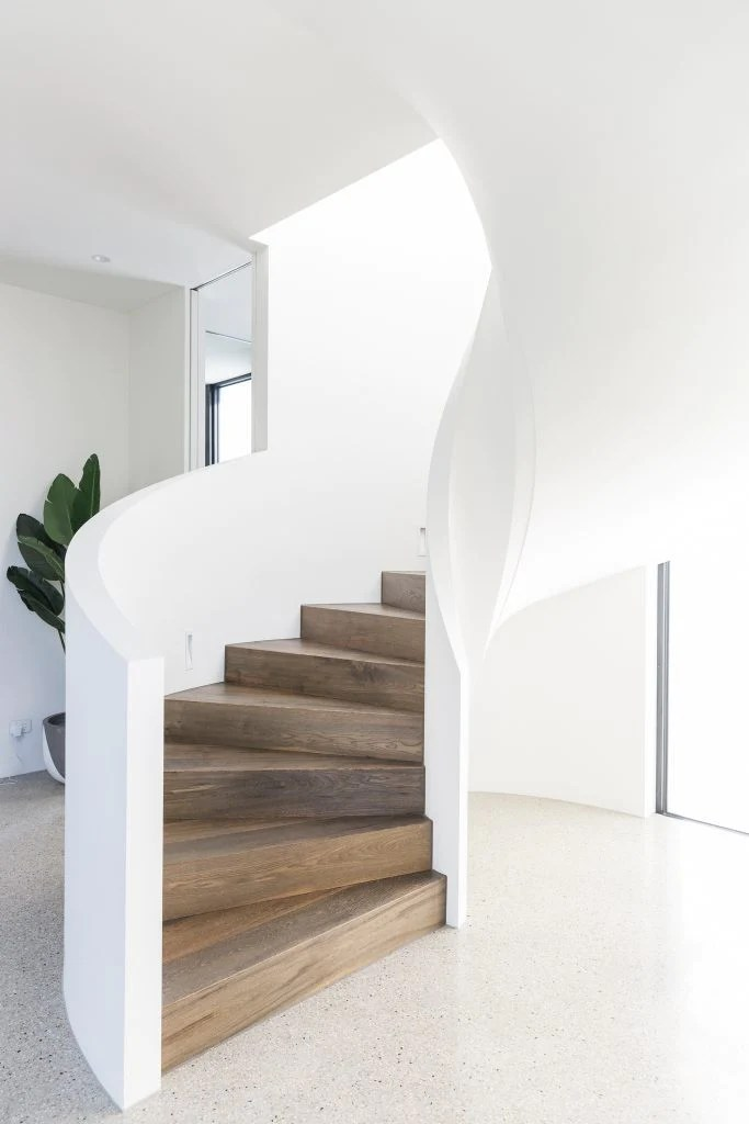 Inspiration The Curved Staircase Greige Design