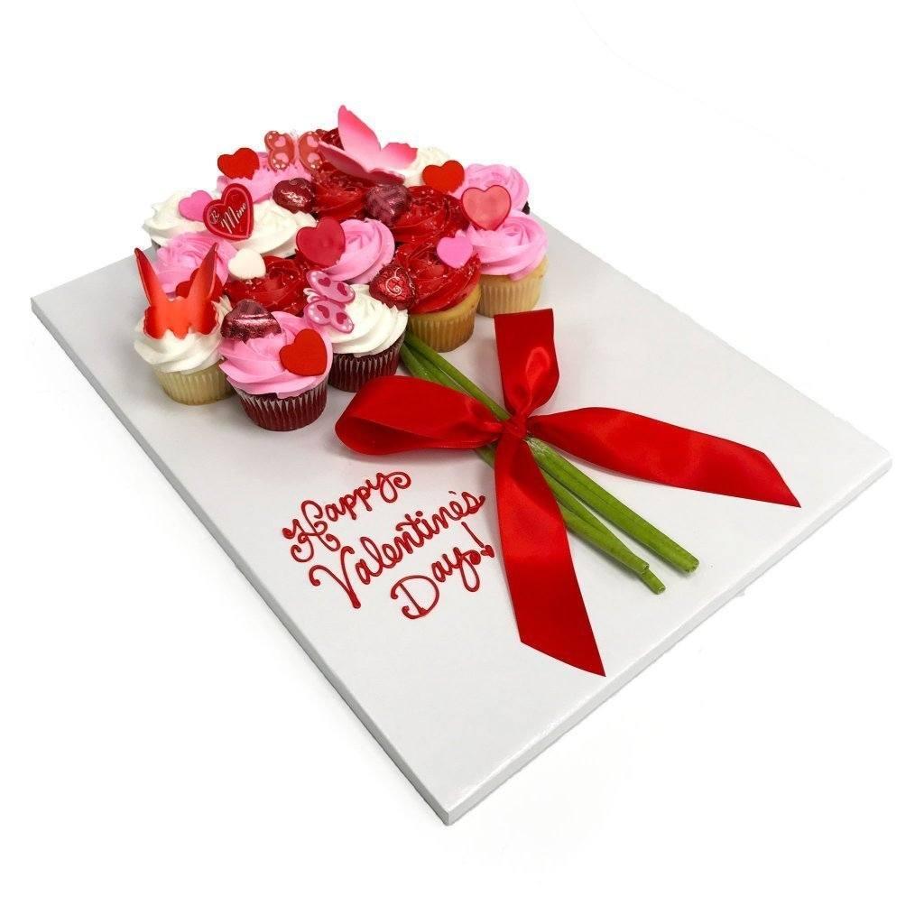 Valentines Cupcake Bouquet Freeds Bakery