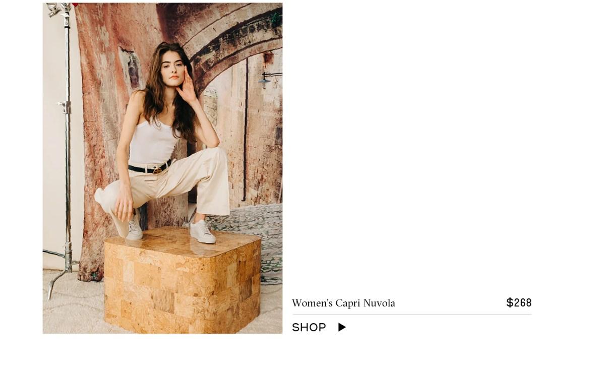 Shop Women's Capri Nuvola