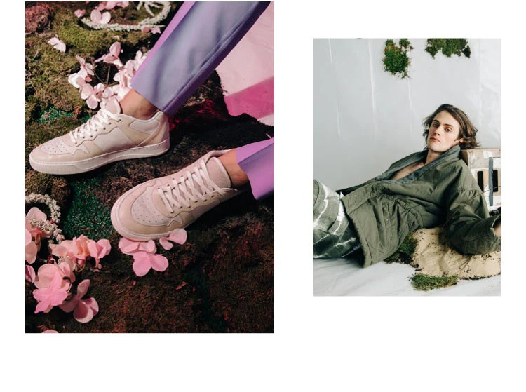 Metro Lookbook | Low-top sneaker | KOIO