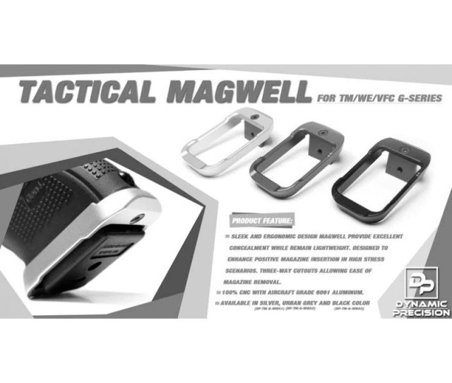 Dynamic Precision Tactical Magwell For Tm We Vfc G Series