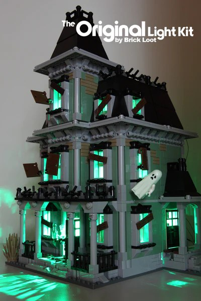 Led Lighting Kit For Lego 174 10228 Monster Haunted House