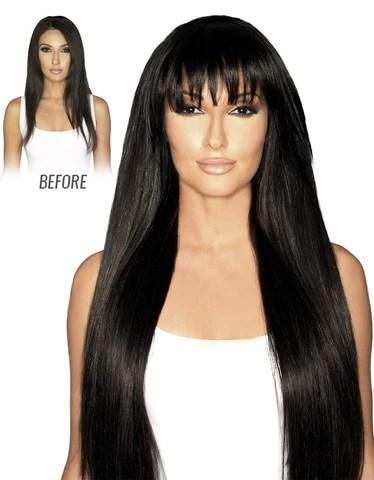clip in bangs bellami hair