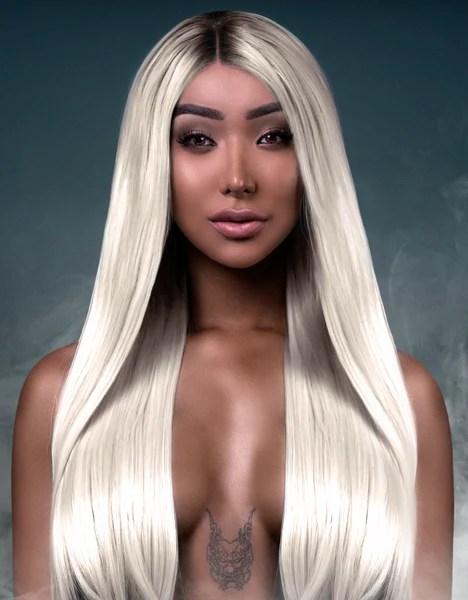 Nikita Dragun Synthetic Wig Khaleesi BELLAMI Hair