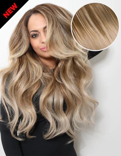 Balayage 160g 20 Ombre Ash BrownAsh Blonde Hair