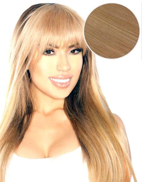 Cleopatra Clip In Bangs Dirty Blonde 18 BELLAMI