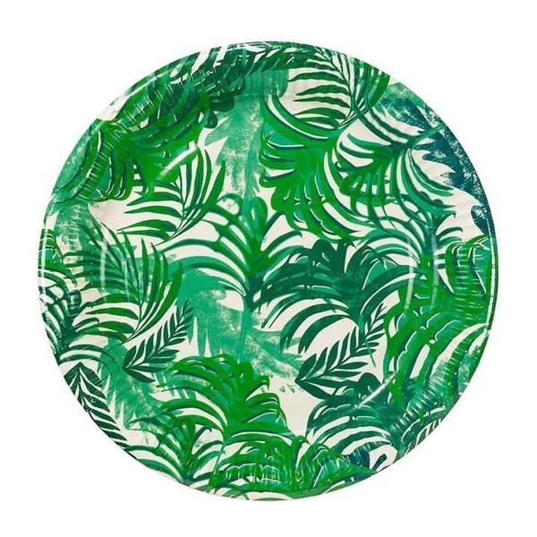 Fancy Frond Paper Plates Shop Sweet Lulu