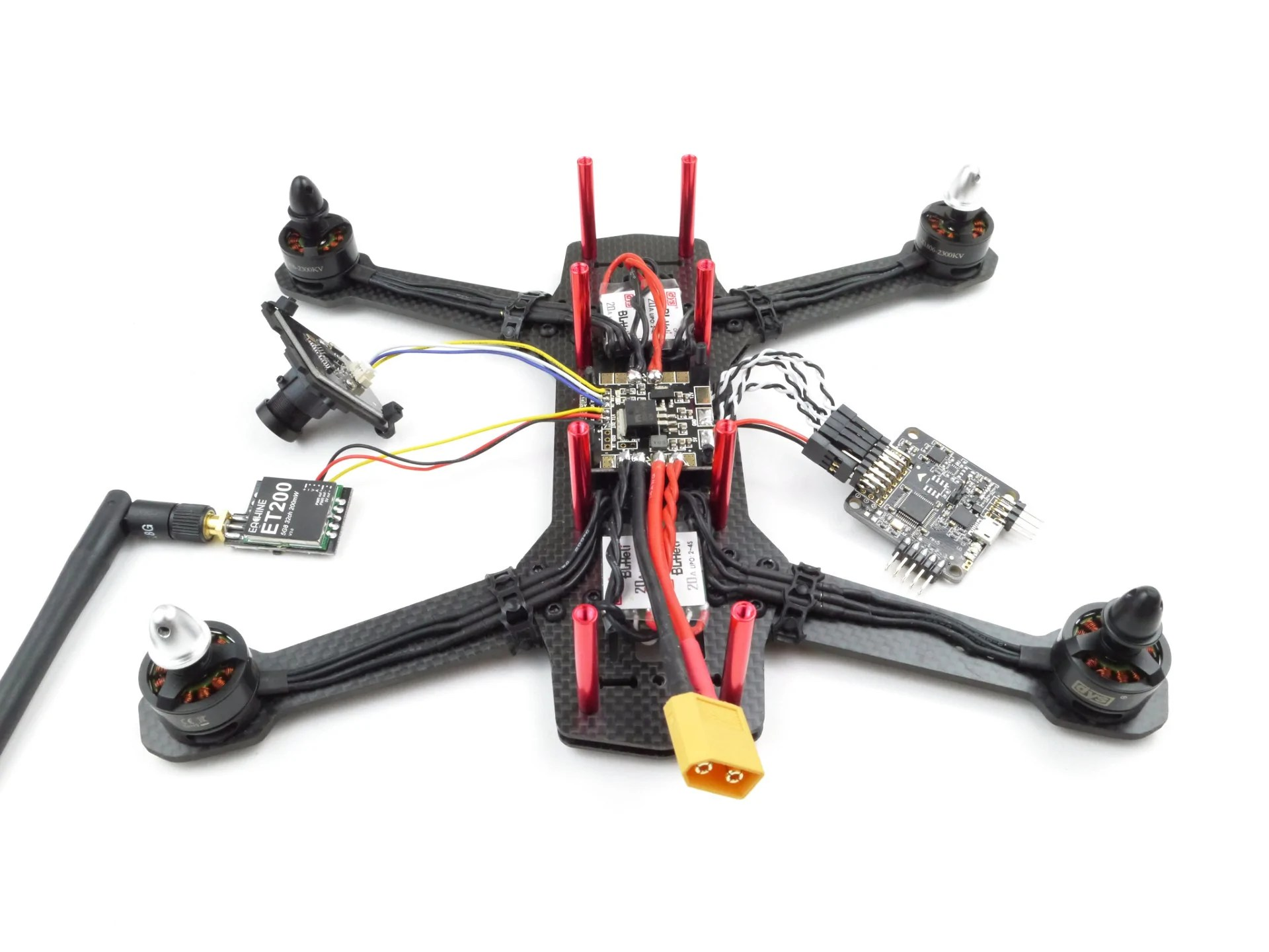 Buy The Most Affordable FPV Racing Mini Quadcopter Kit