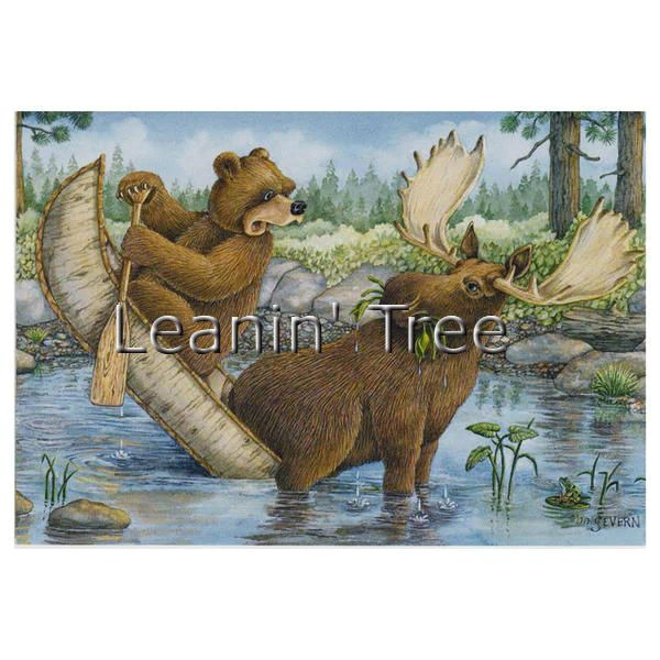 Leanin Tree Tippecanoe Laughing Bear Encouragement