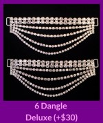 6 Dangle Deluxe Angel Competition Bikinis