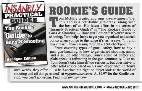Featured in American Handgunner Magazine