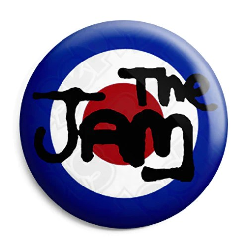 The Jam Logo Mod Button Badge Fridge Magnet Key Ring