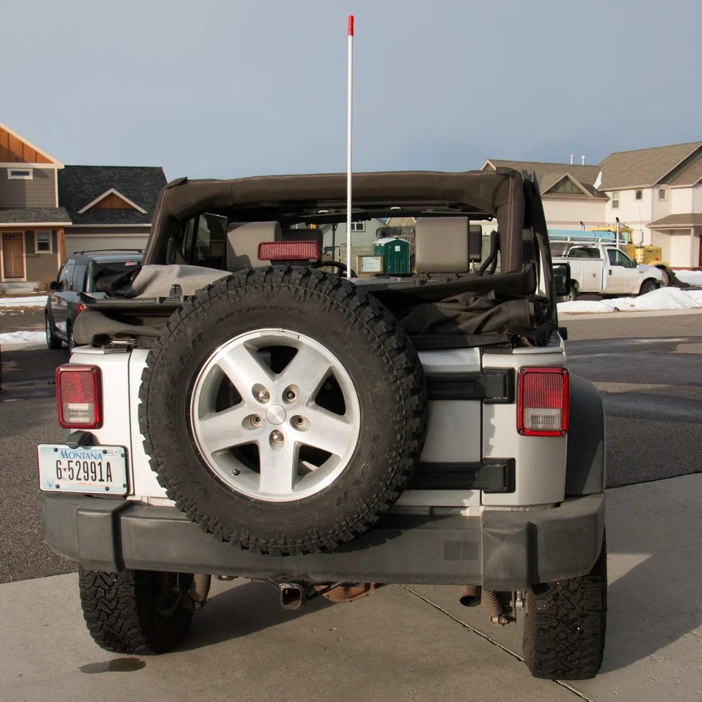 Jeep Wrangler Cb Install Jk Snorkel