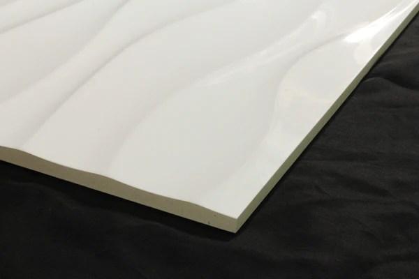 Urban Wave White Gloss 300x600 Tiles Republic