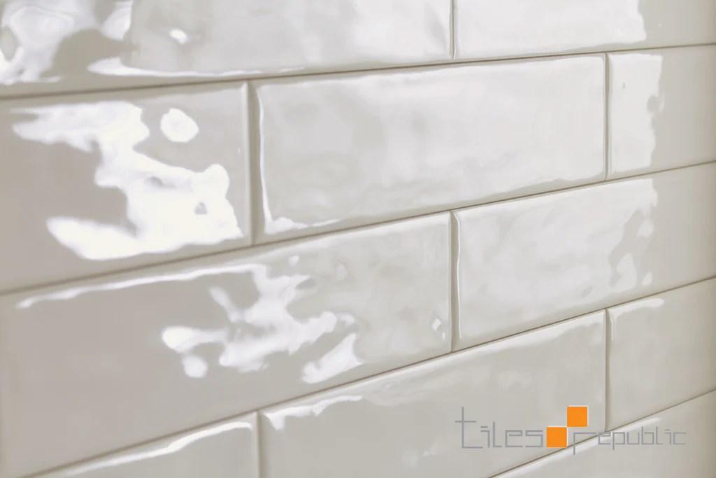 mano ivory gloss handmade look 75x300 subway wall